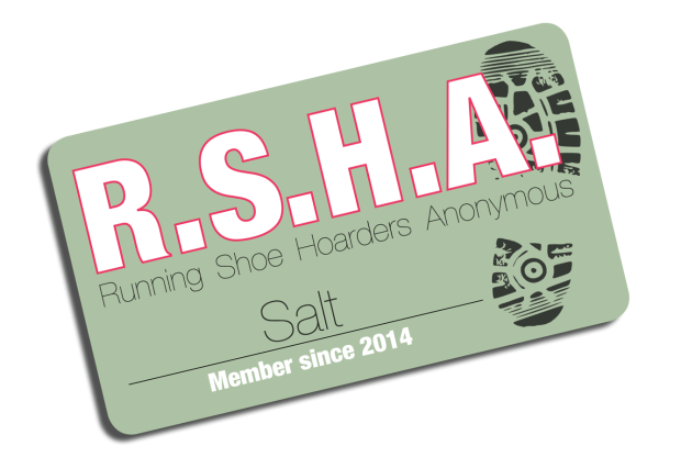 3fab67f3f0 Card carrying member of R.S.H.A.  Running Shoe Hoarders Anonymous ...
