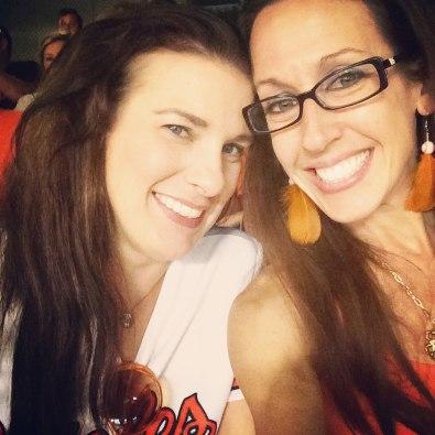 Baseball selfie.
