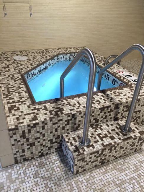 The ultimate ice bath.